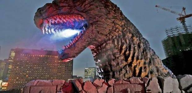 Godzilla Welcomed in Tokyo