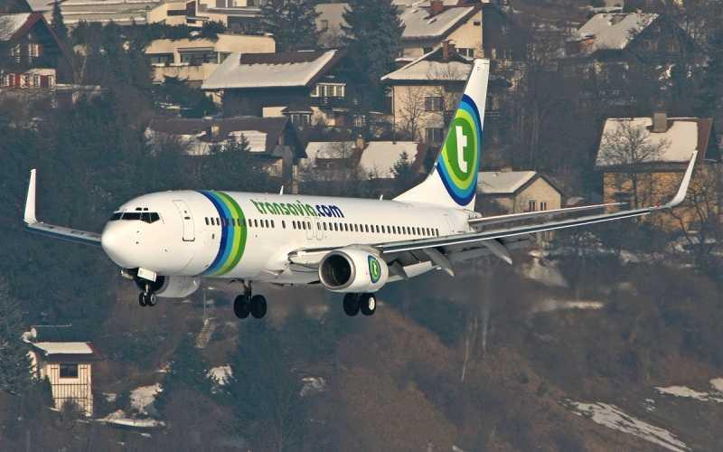 Transavia Flight to Porto