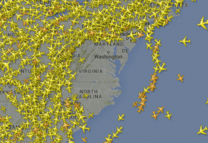 Flight Delays across Washington & New York Airports