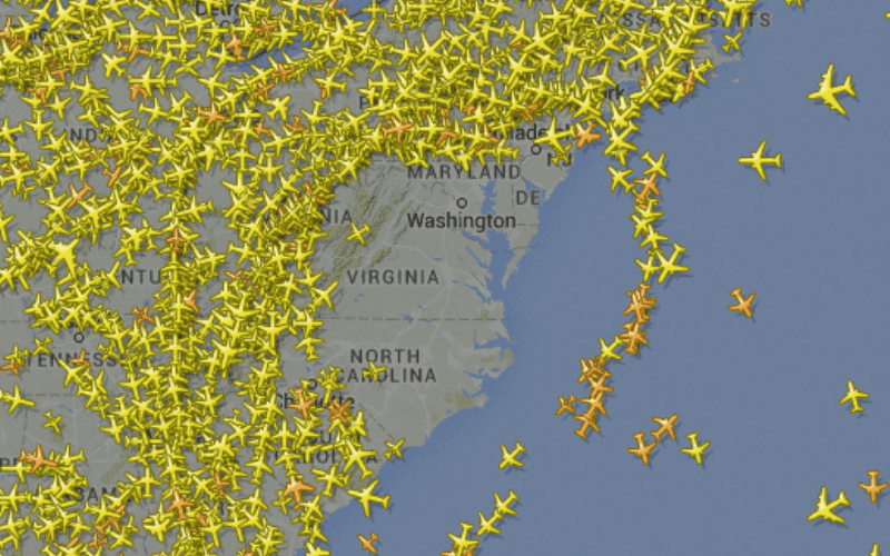 Flight Delays across Washington & New York Airports