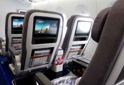 Lufthansa offers passengers high speed WiFi