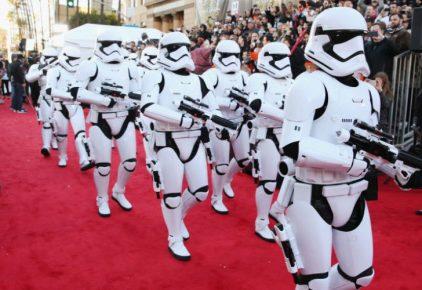 Star Wars The Force Awakens Premiere in LA