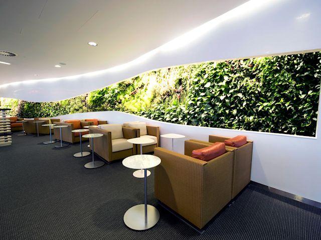 Heathrow SkyTeam Lounge