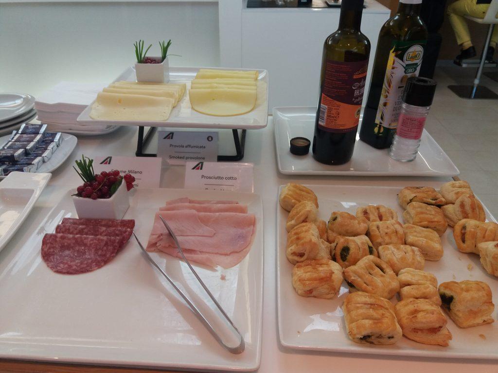 Alitalia Lounge Snacks