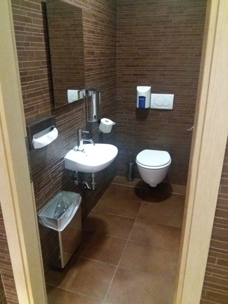 Alitalia Lounge Toilet