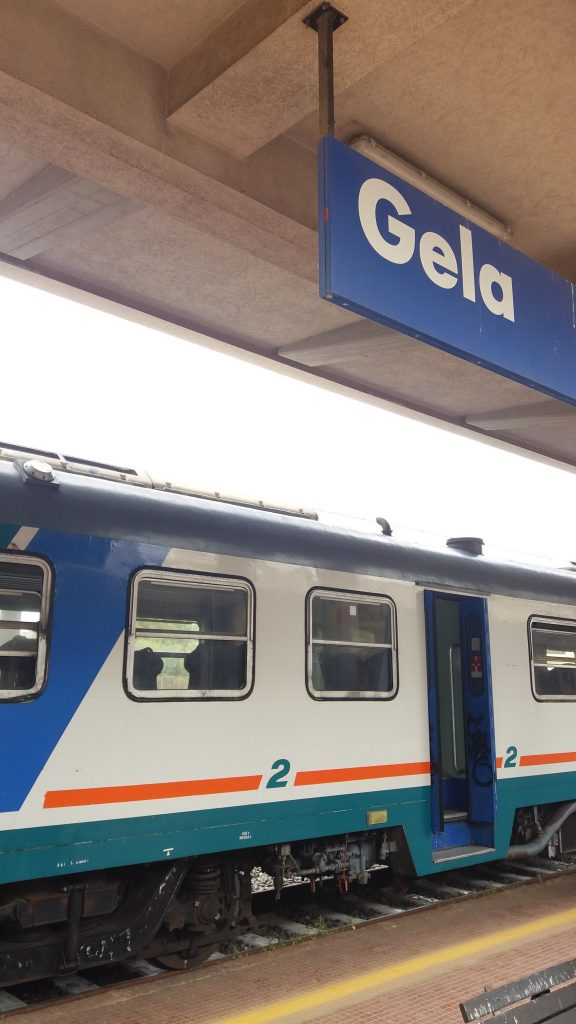 Train from Gela to Ragusa