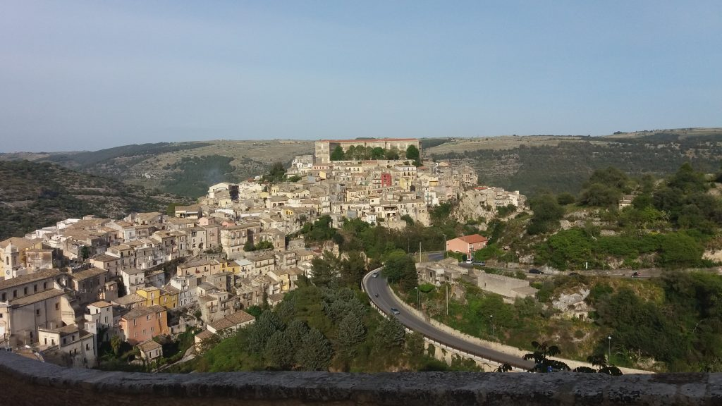 View towards Ragusa Superiore