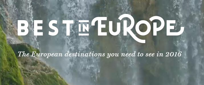 Lonely Planet Best in Europe 2016
