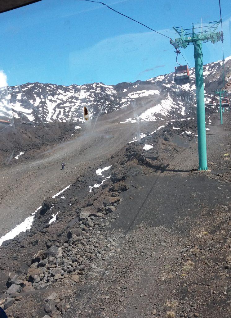 Mt Etna Chairlift