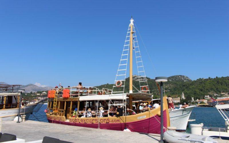 MS Negrit – Elaphite Boat Tour