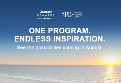 Marriott Rewards & SPG programs become one in august