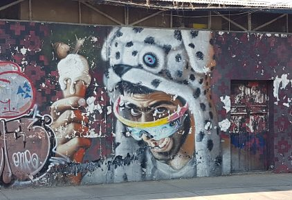 Santiago Straßenkunst-Tour