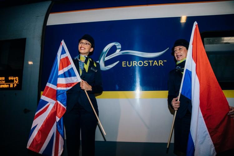 Direct Eurostar Amsterdam London