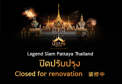 Legend Siam closed
