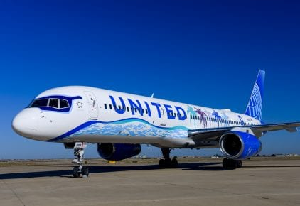 Boeing 757 design, created by San Francisco resident and artist Tsungwei Moo