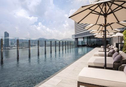 Hyatt Centric Victoria Harbour Hong Kong Swimming Pool