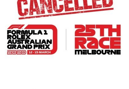 Australian Grand Prix in Melbourne has been cancelled